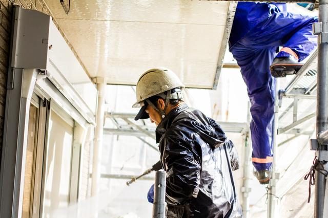 外壁塗装工事費用の計算方法