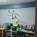 【子供部屋DIY】壁紙リメイクでデザイナーズ物件の風合いを実現