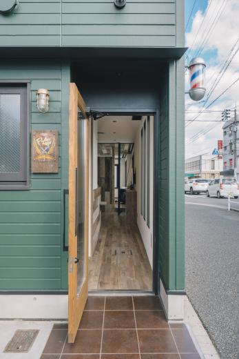 Barber shop in Jyoyamaの写真7