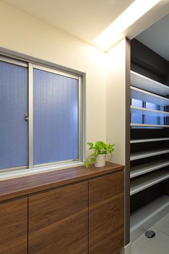 ルーバー天井の家・リノベーションマンションの写真10