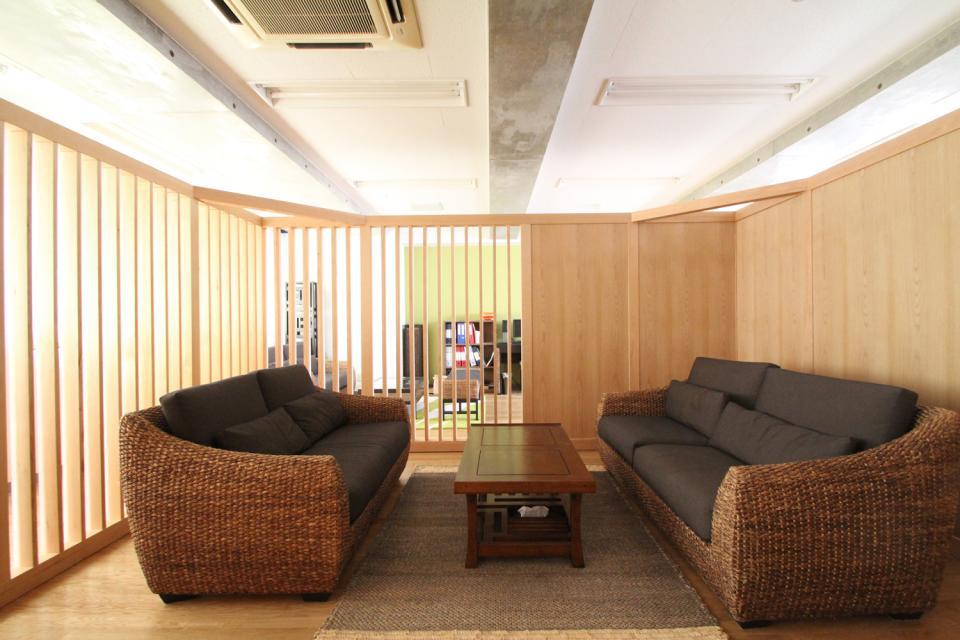 木のオフィスの写真2