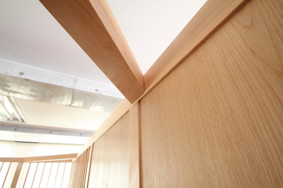 木のオフィスの写真5