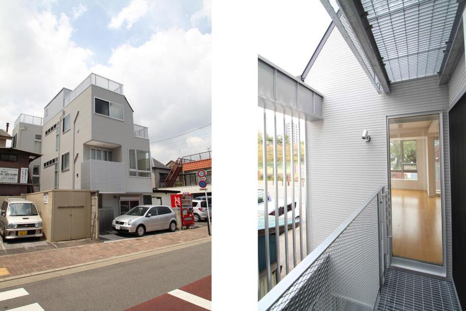 狭小住宅 狭小間口の家の写真5