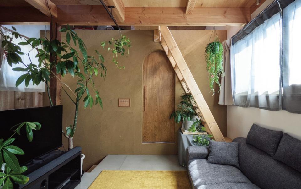 セルフビルドを取り入れてコストを抑えた中古住宅フルリノベーションの写真0
