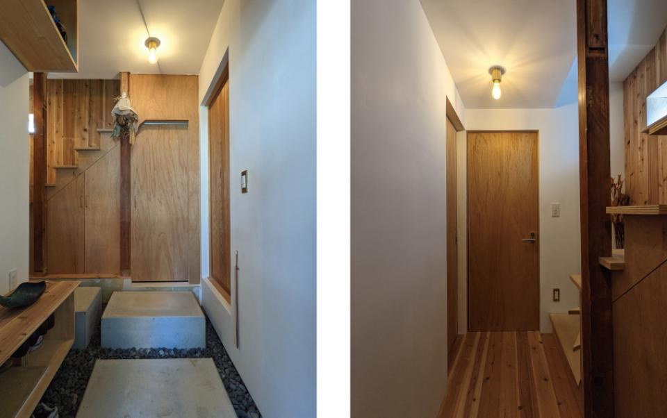 セルフビルドを取り入れてコストを抑えた中古住宅フルリノベーションの写真2