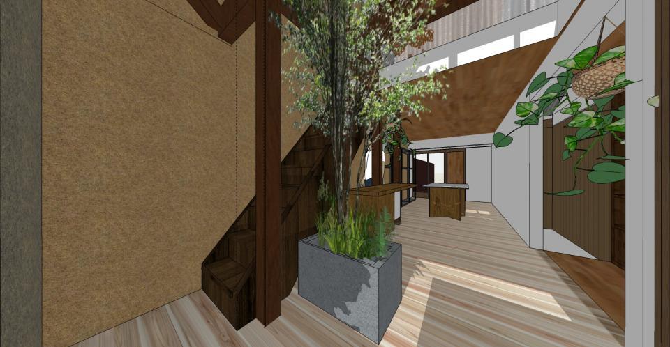 観光地でのカフェ&ショップ計画(リノベーション)の写真3