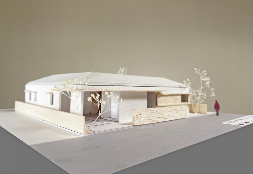 中庭のある家の写真3