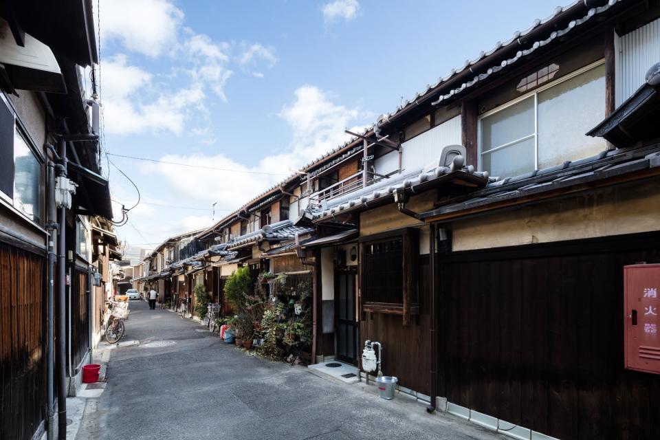 昭和小路の長屋|賃貸向け京町家のリノベーションの写真2