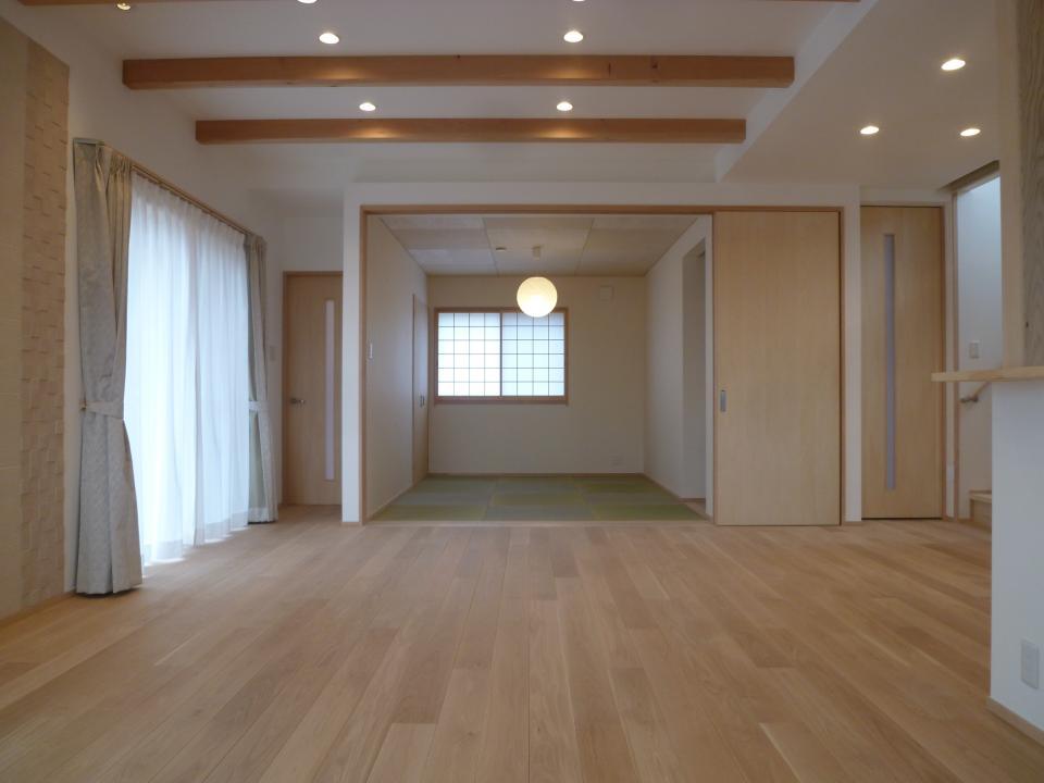漆喰と土佐和紙の家の写真1