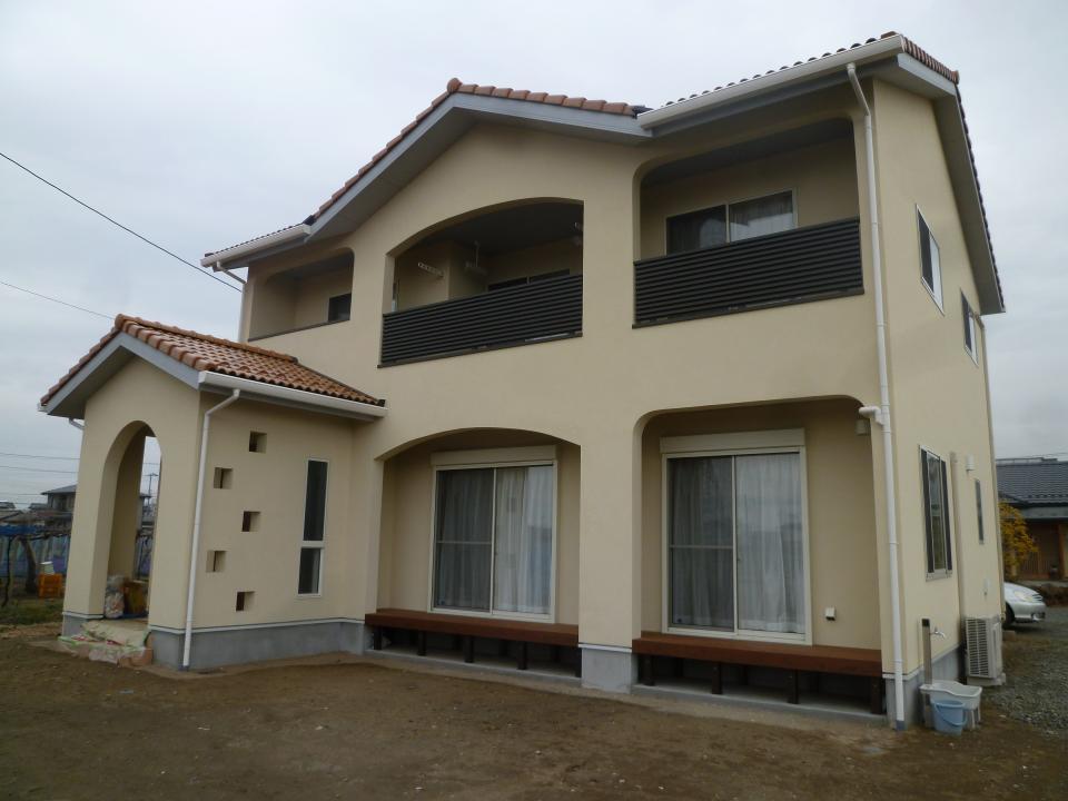 漆喰と土佐和紙の家の写真4