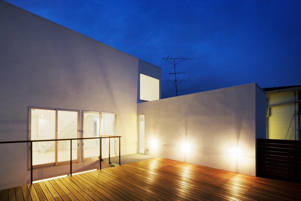 めぐり逢いのテラスを持つ二世帯住宅の写真2