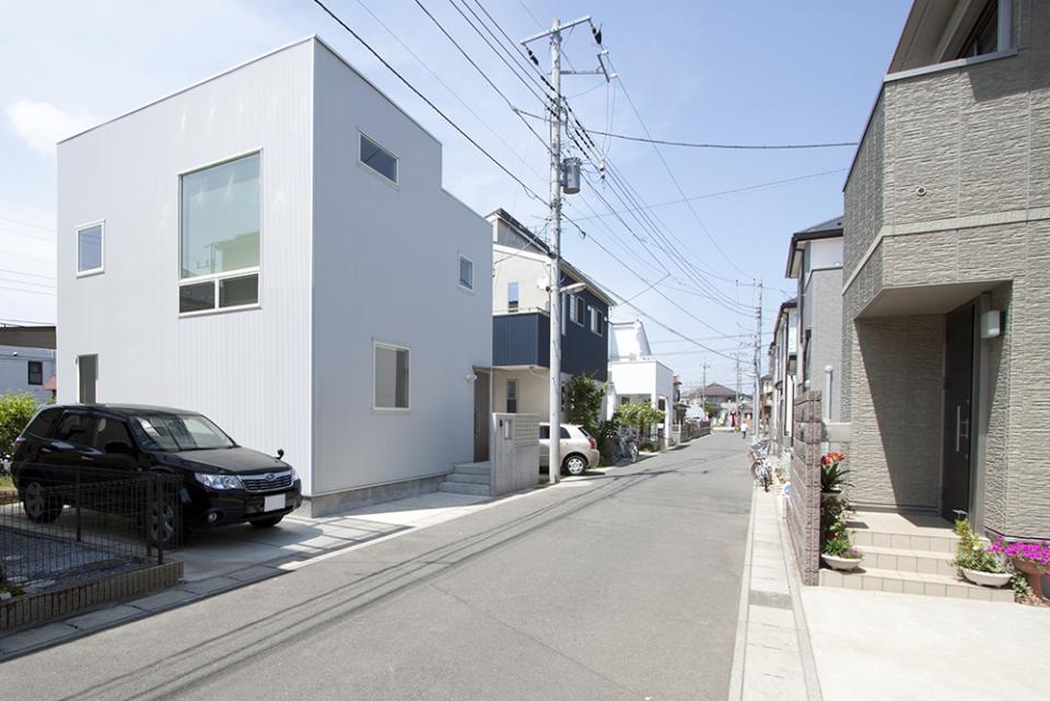 光と風、空間、繋がる狭小住宅の写真0