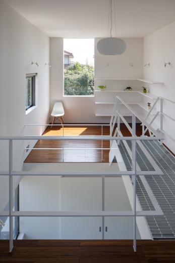ギャラリーに住まう狭小住宅の写真3