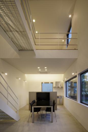 ギャラリーに住まう狭小住宅の写真4