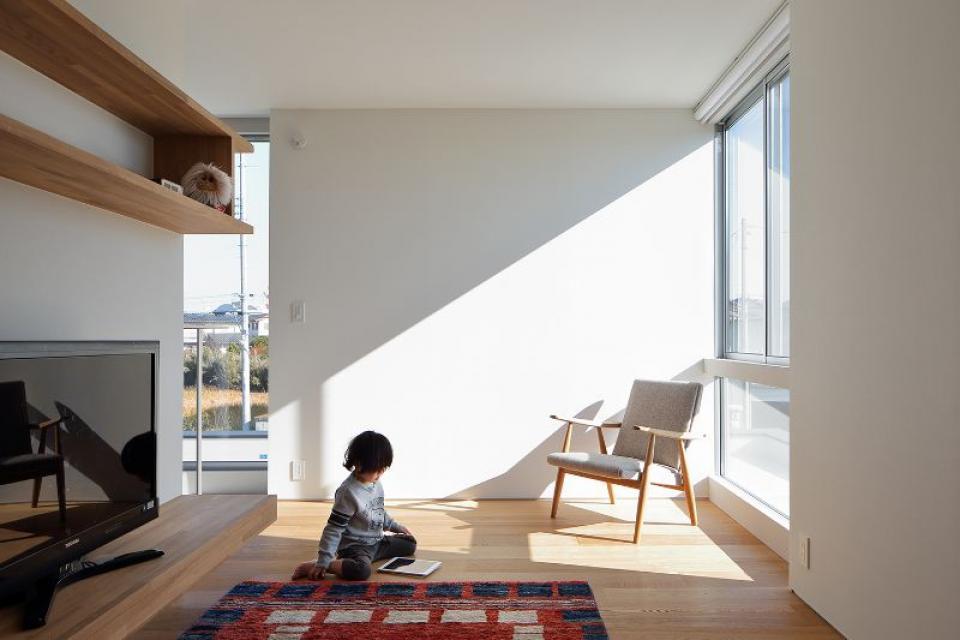 距離によって新たな身体的関係性をもたらす住居の写真6