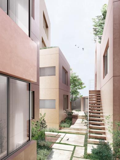 自然素材の賃貸マンション 玉川台のアパートメントの写真1