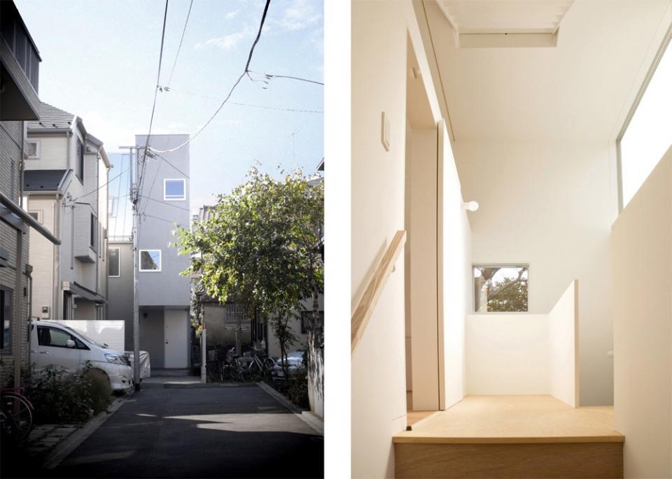 密集した住宅地のなかの別世界 早稲田の家の写真1