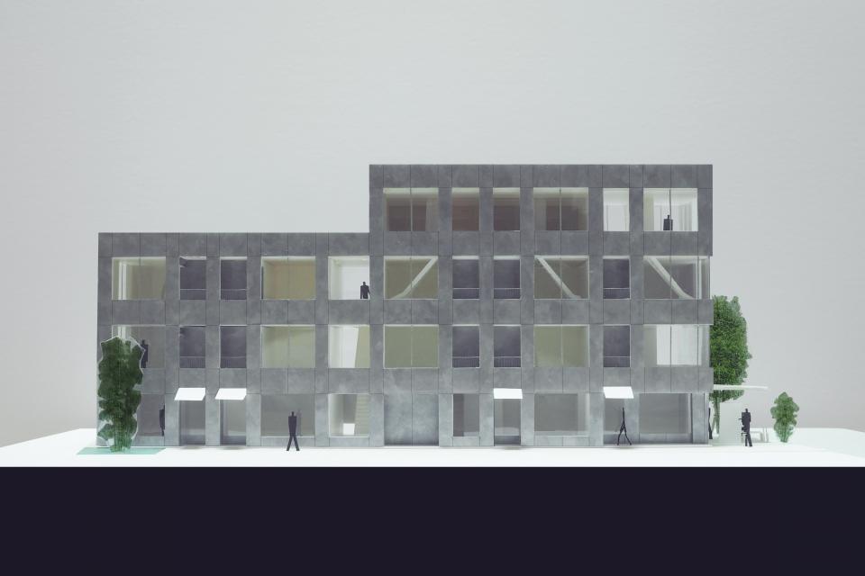 新たな路地空間を生み出す建築 アパートメントMの写真0