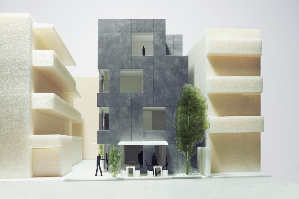 新たな路地空間を生み出す建築 アパートメントMの写真3