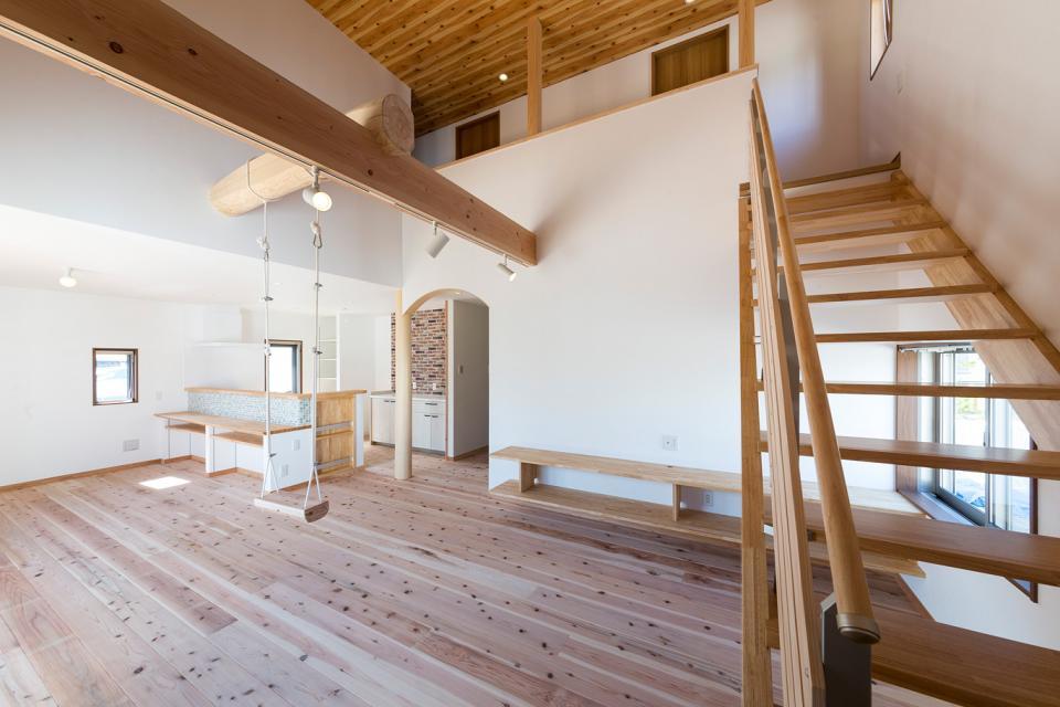ブランコのある夢の家の写真2