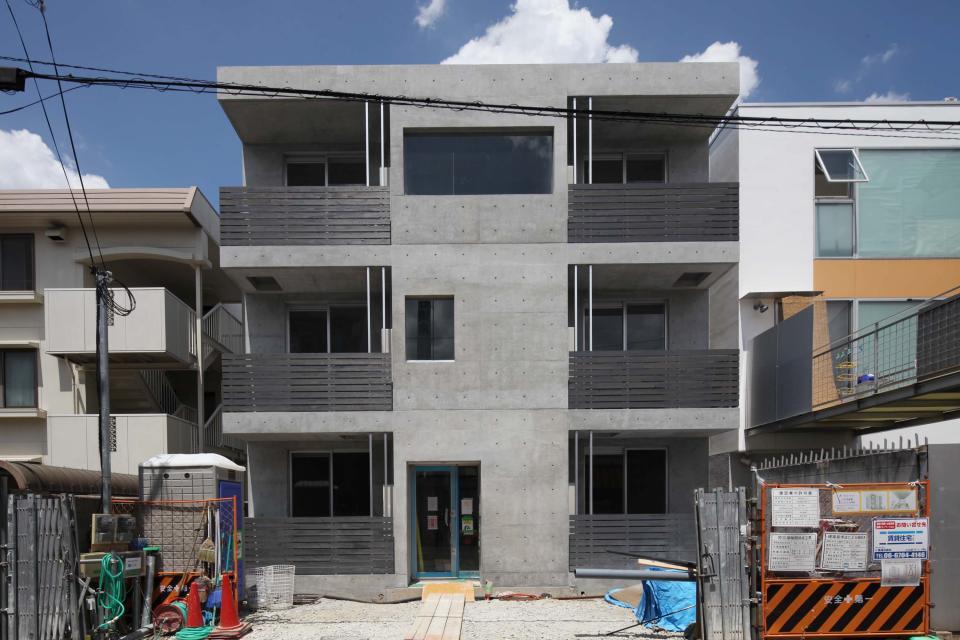 永住したいRC打ちっぱなし共同住宅「R-Grey」モデルルーム OPEN