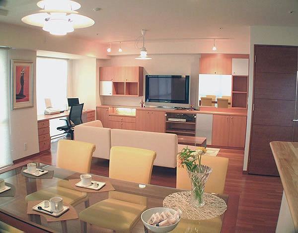 谷町のマンション改修 -新築マンションに手を加える-の写真0
