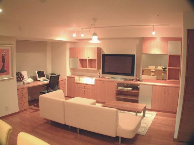 谷町のマンション改修 -新築マンションに手を加える-の写真1