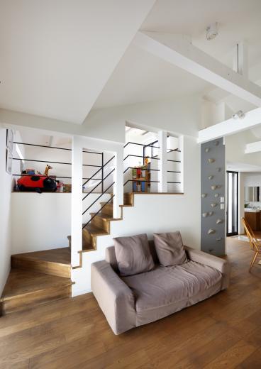5段の距離がいい -程よい距離感の二世帯住宅 長屋のフルリノベーション-の写真5