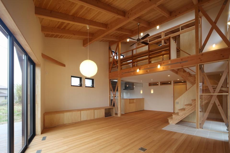 大屋根光庭の家/蒲郡の写真1