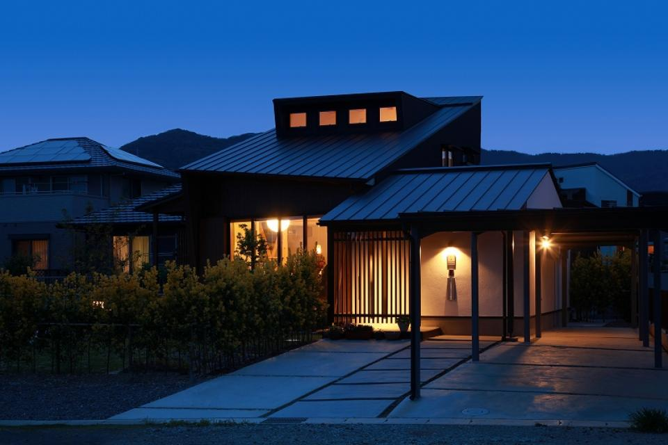 大屋根光庭の家/蒲郡の写真5