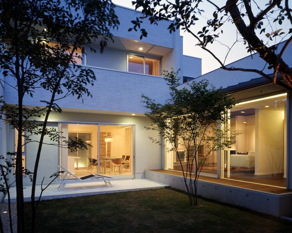 五つ庭の家の写真0