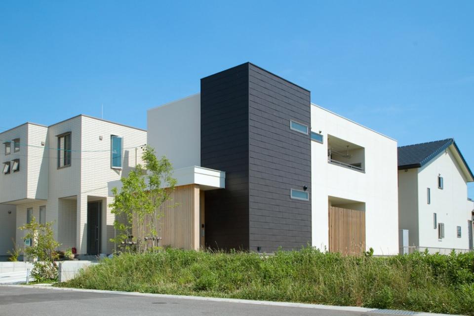 空が見える家の写真1