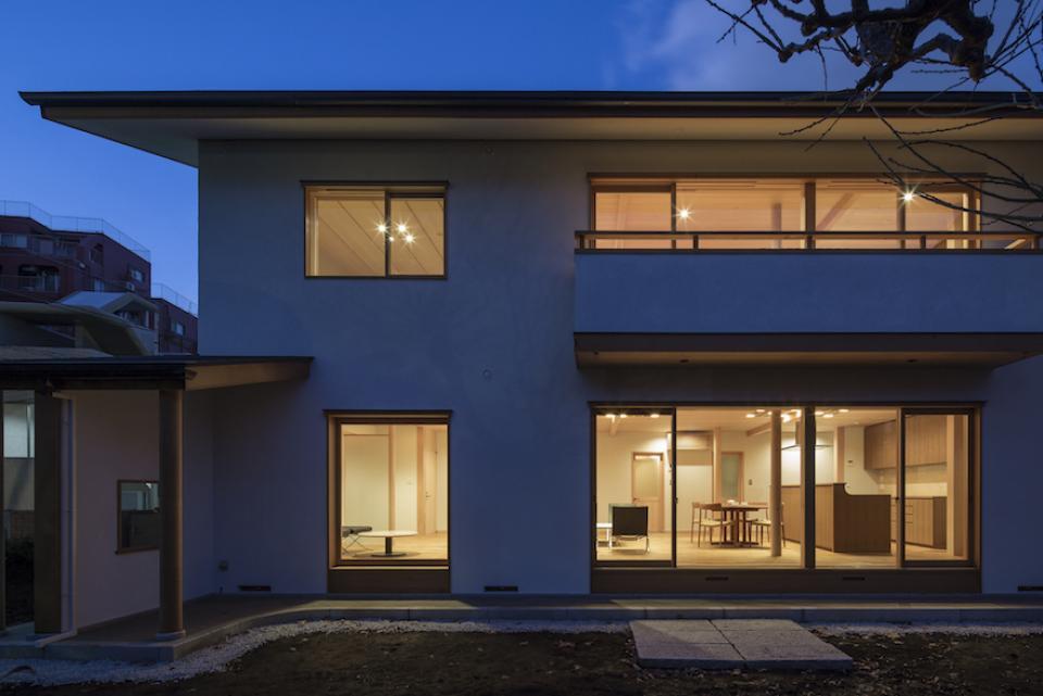 都心の二世帯住宅の写真3