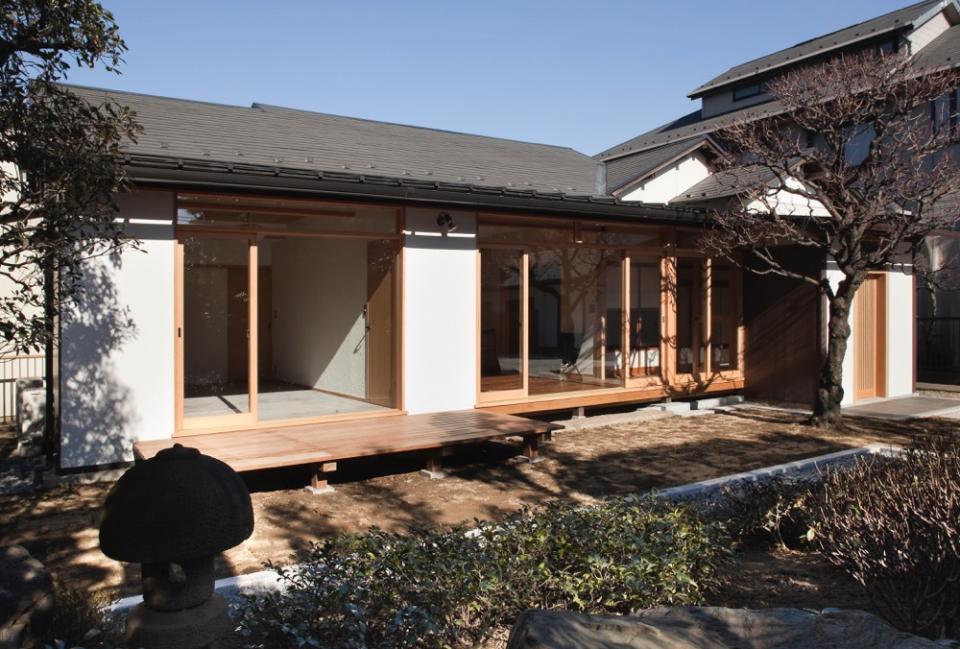 都心の数寄屋住宅改修の写真1