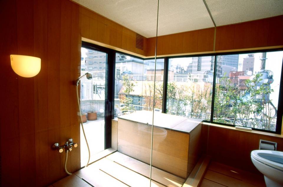 千駄ヶ谷のコンクリート打放しの写真7