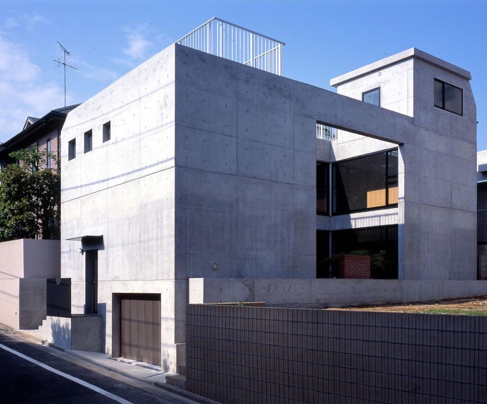 目黒の都市型住宅の写真2
