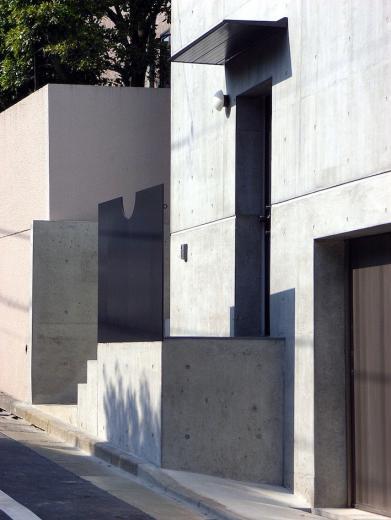 目黒の都市型住宅の写真3