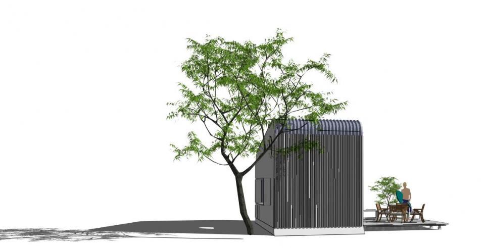 SEA-BOX (キャビン)8坪 サーファーCafe 500万円の写真2