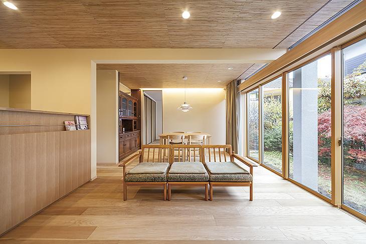 緑豊かで心地良い二世帯住宅の写真3
