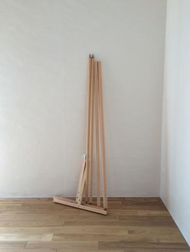 組立て家具(ハンガーラック)の写真1