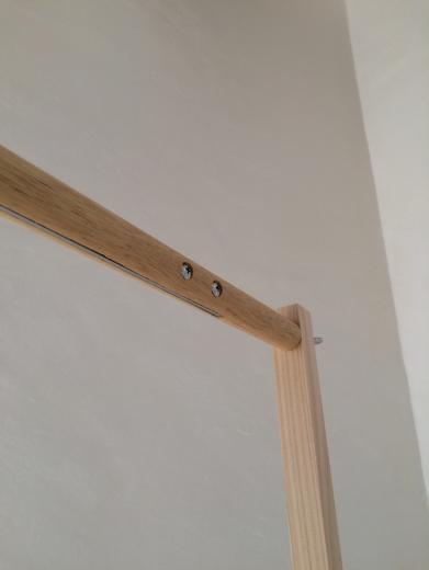 組立て家具(ハンガーラック)の写真2