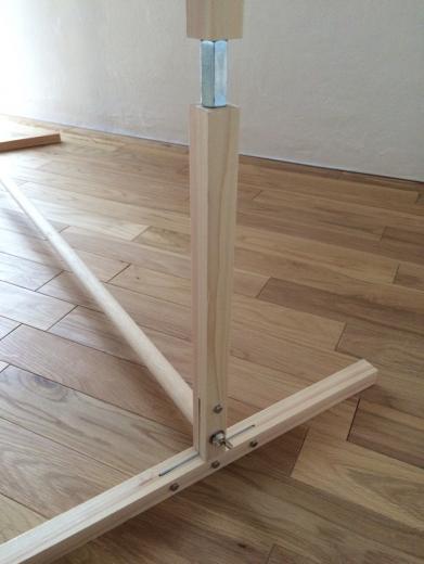 組立て家具(ハンガーラック)の写真3