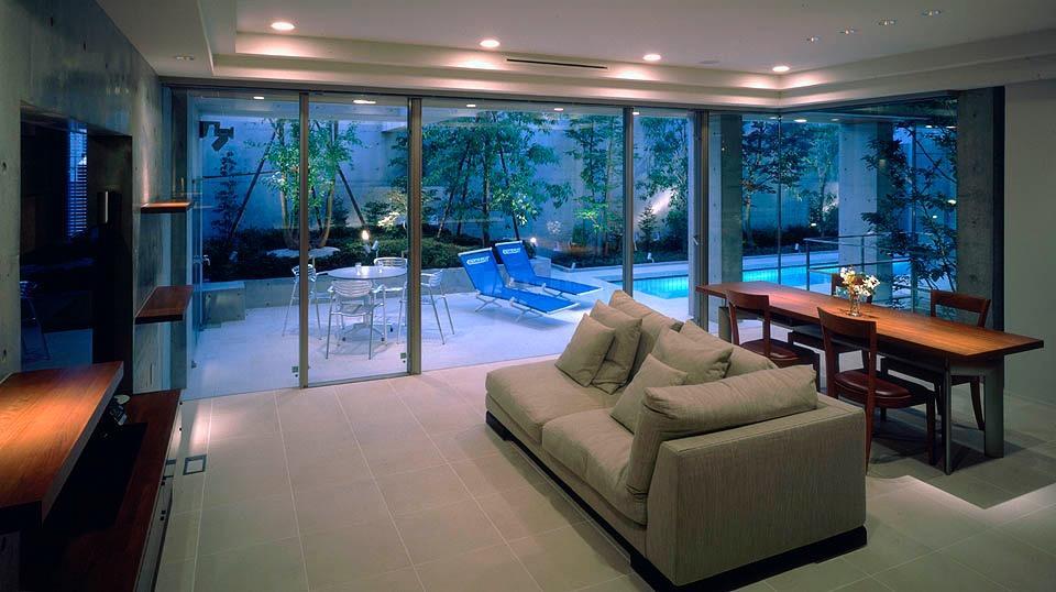 プールコートの家の写真10