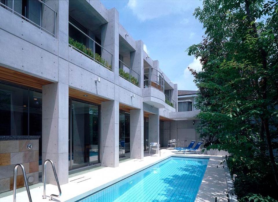 プールコートの家の写真13