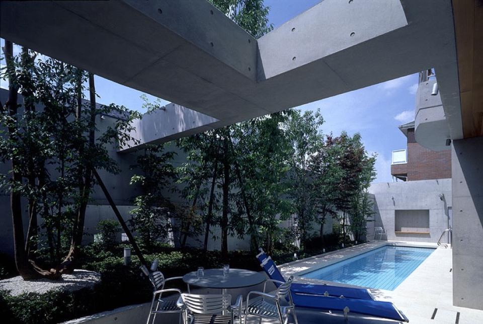 プールコートの家の写真8