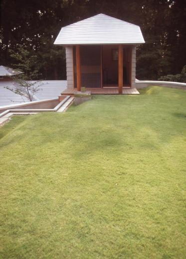 【雑木林の中の回遊住宅】屋上庭園に点在するアトリエの写真7