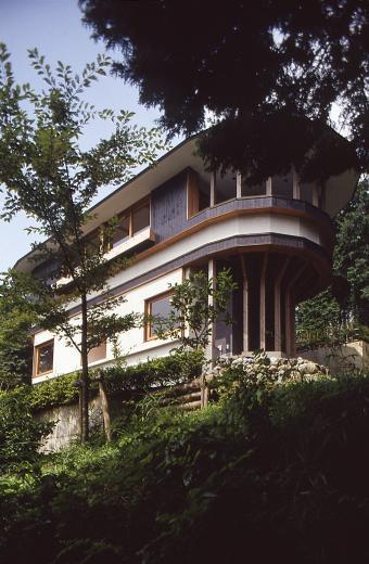 顔振峠 山頂の週末住宅(飯能市)【空と稜線の間で】の写真0