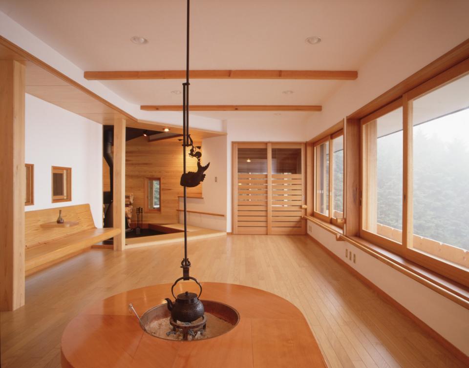 顔振峠 山頂の週末住宅(飯能市)【空と稜線の間で】の写真9