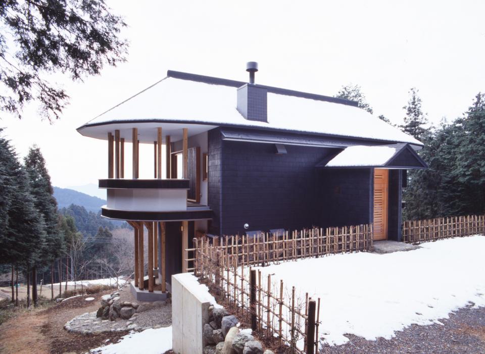顔振峠 山頂の週末住宅(飯能市)【空と稜線の間で】の写真2