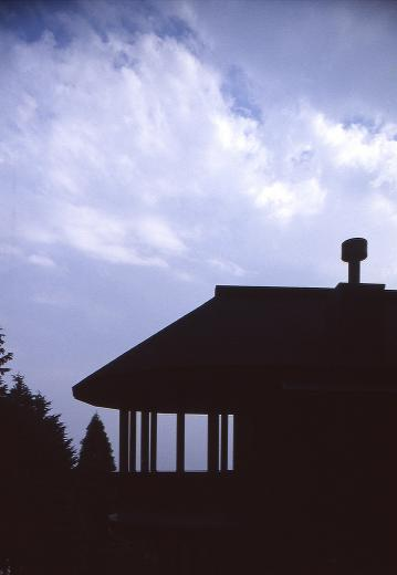 顔振峠 山頂の週末住宅(飯能市)【空と稜線の間で】の写真5
